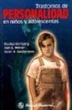 Papel TRASTORNOS DE PERSONALIDAD EN NIÑOS Y ADOLESCENTES