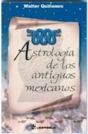 Papel ASTROLOGIA DE LOS ANTIGUOS MEXICANOS