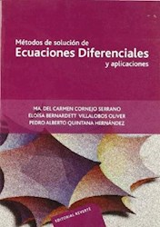 Libro Metodos De Solucion De Ecuaciones Diferenciales Y Aplicaciones