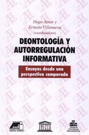 E-book Deontología Y Autorregulación Informativa
