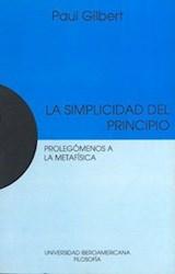 Papel LA SIMPLICIDAD DEL PRINCIPIO