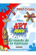 Papel ART ATTACK EL MUNDO DE LA FANTASIA