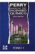 Papel MANUAL DEL INGENIERO QUIMICO (6 EDICION) (2 TOMOS)
