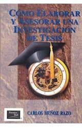 Papel COMO ELABORAR Y ASESORAR UNA INVESTIGACION DE TESIS