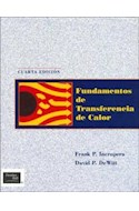 Papel FUNDAMENTOS DE TRANSFERENCIA DE CALOR [4/EDICION]