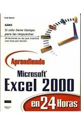 Papel APRENDIENDO MICROSOFT EXCEL 2000 EN 24 HORAS