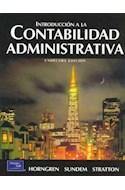 Papel INTRODUCCION A LA CONTABILIDAD ADMINISTRATIVA [11 / EDICION]