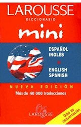 Papel DICCIONARIO MINI ESPA\OL INGLES  ENGLISH SPANISH