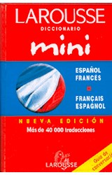 Papel DICCIONARIO MINI ESPA\OL FRANCES  FRANCES ESPA\OL