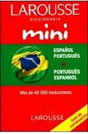 Papel DICCIONARIO LAROUSSE MINI (ESPAÑOL / PORTUGUES) (PORTUGUES / ESPANHOL) (RUSTICA)