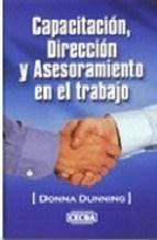 Libro Capacitacion Direccion Y Asesoramiento En El Trabajo