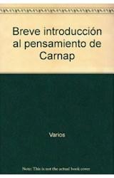 Papel Breve Introducción Al Pensamiento De Carnap