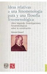 Papel IDEAS 2 RELATIVAS A UNA FENOMENOLOGIA PURA Y UNA FILOSOFIA F