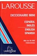 Papel DICCIONARIO MINI ESPAÑOL/INGLES-ENGLISH/SPANISH MAS DE
