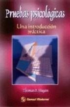 Test PRUEBAS PSICOLOGICAS UNA INTRODUCCION PRACTICA