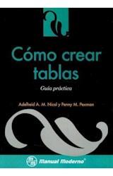 Papel COMO CREAR TABLAS (GUIA PRACTICA)