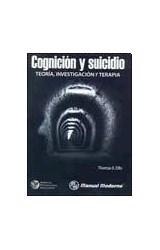 Papel COGNICION Y SUICIDIO. TEORIA, INVESTIGACION Y TERAPIA