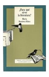 Papel PARA QUE SIRVE LA LITERATURA?