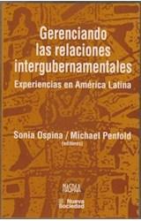 Papel GERENCIANDO LAS RELACIONES INTERGUBERNAMENTALES