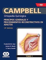 Papel Campbell Ortopedia Quirúrgica, Tomo 1 Ed.13