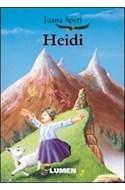 Papel HEIDI (COLECCION CLASICOS JUVENILES)