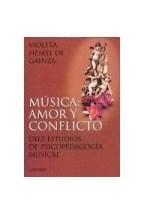 Papel MUSICA: AMOR Y CONFLICTO (DIEZ ESTUDIOS DE PSICOPEDAGOGIA MU