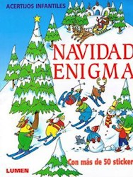 Papel Navidad Enigma Acertijos Infantiles