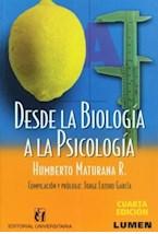 Papel DESDE LA BIOLOGIA A LA PSICOLOGIA