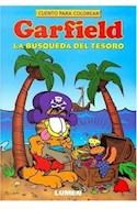 Papel GARFIELD LA BUSQUEDA DEL TESORO (CUENTO PARA COLOREAR)