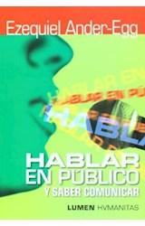 Papel HABLAR EN PUBLICO Y SABER COMUNICAR