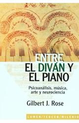 Papel ENTRE EL DIVAN Y EL PIANO (PSICOANALISIS, MUSICA, ARTE Y NEU
