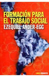Papel FORMACION PARA EL TRABAJO SOCIAL