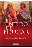 Papel SENTIDO DE EDUCAR