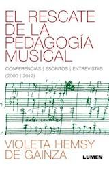 Papel EL RESCATE DE LA PEDAGOGIA MUSICAL
