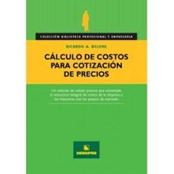 Papel Calculo De Costos Para Cotizacion De Precios