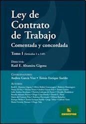 Libro Ley De Contrato De Trabajo Comentada Y Concordada ( 2 Tomos )