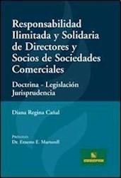 Libro Responsabilidad Ilimitada Y Solidaria De Directores Y Socios De Sociedades