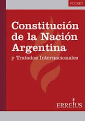 Libro Constitucion De La Nacion Argentina ( Edicion Pocket )