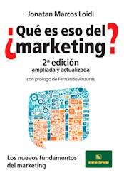 Libro Que Es Eso Del Marketing ?