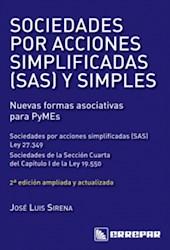 Libro Sociedades Por Acciones Simplificadas ( Sas ) Y Simples