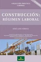 Libro Construccion : Regimen Laboral