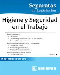Separatas De Legislacion : Higiene Y Seguridad En El Trabajo