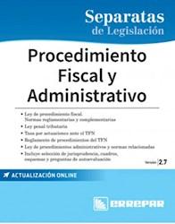 Libro Separatas De Legislacion : Procedimiento Fiscal Y Administrativo