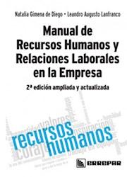 Libro Manual De Recursos Humanos Y Relaciones Laborales En La Empresa