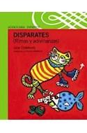 Papel DISPARATES RIMAS Y ADIVINANZAS (SERIE VERDE) (4 AÑOS)