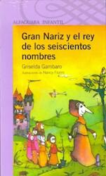 Papel Gran Nariz Y El Rey De Los 600 Nombres - Lila