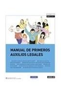 Papel MANUAL DE PRIMEROS AUXILIOS LEGALES (RUSTICA)