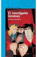 Papel INVESTIGADOR GIMENEZ (SERIE AZUL) (12 AÑOS)