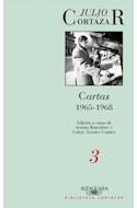 Papel CARTAS 3 1965-1968 (EDICION CORREGIDA Y AUMENTADA) (RUSTICA)