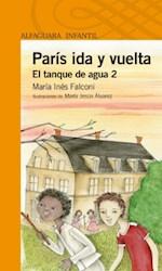 Papel Paris Ida Y Vuelta El Tanque De Agua 2 - Naranja
